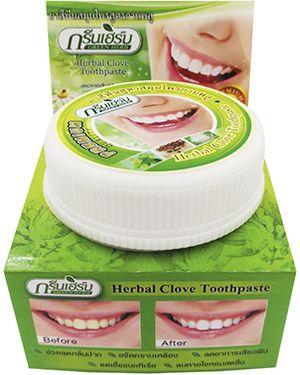 Зубная паста зеленый Green Herb