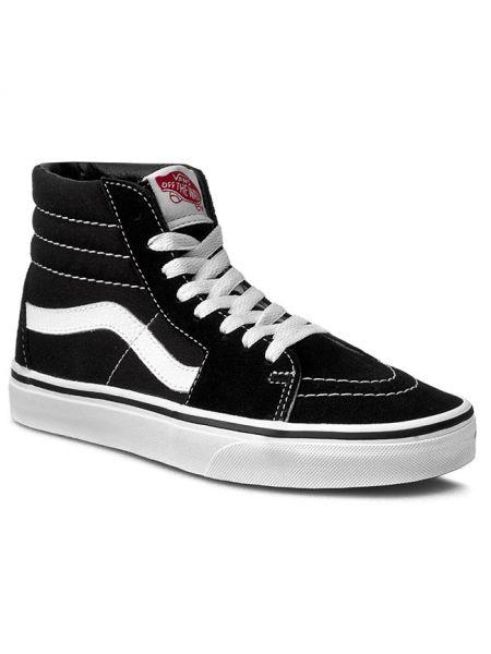 Klasyczne białe sneakersy skorzane Vans