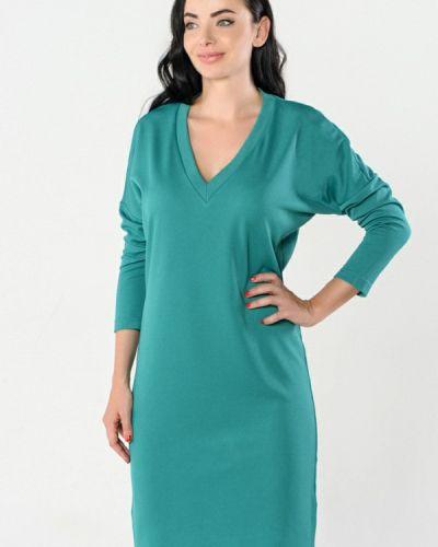 Платье бирюзовый осеннее Kotis Couture