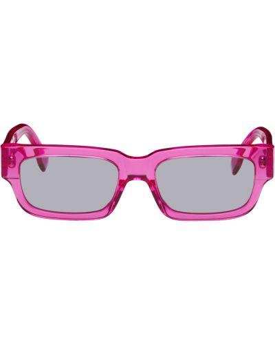 Okulary srebrne - czarne Retrosuperfuture