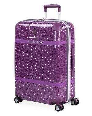 Różowa walizka Victorio Y Lucchino