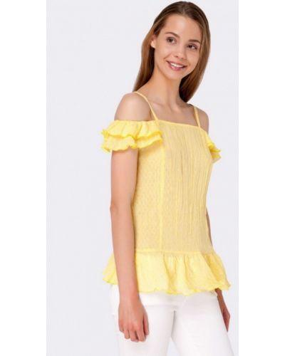 Желтая блузка Cat Orange