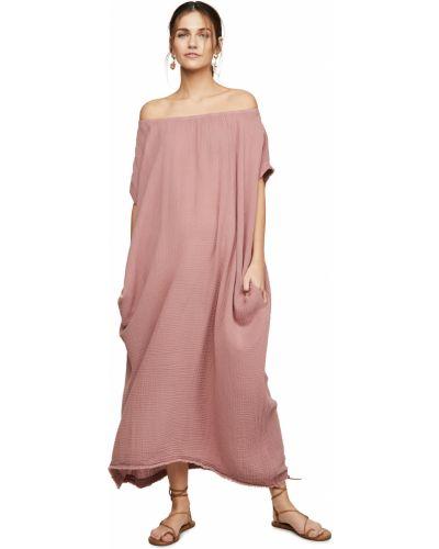 Текстильный кафтан с карманами с декольте 9seed
