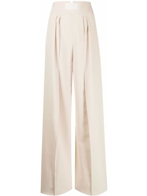 Białe spodnie bawełniane Maticevski