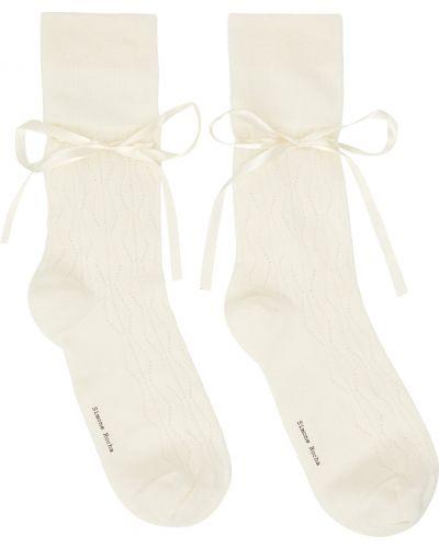 Кружевные носки - черные Simone Rocha