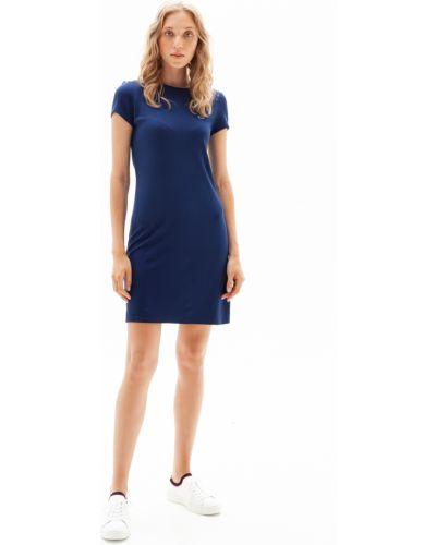 Платье из вискозы Lacoste