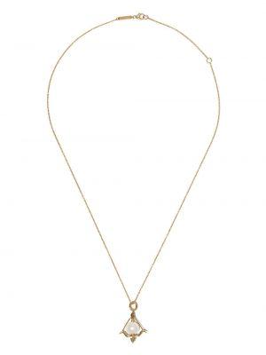 Ожерелье с жемчугом - желтое Stephen Webster