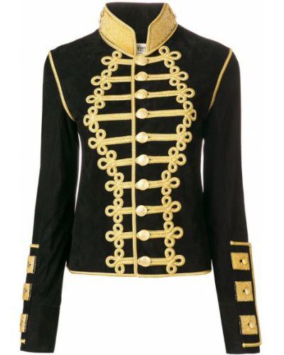 Пиджак черный замшевый Jessie Western