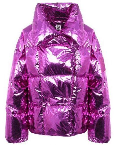 Розовая пуховая куртка с подкладкой Bacon