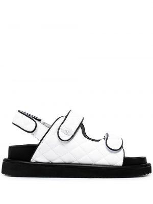 Открытые черные с ремешком сандалии Kurt Geiger London