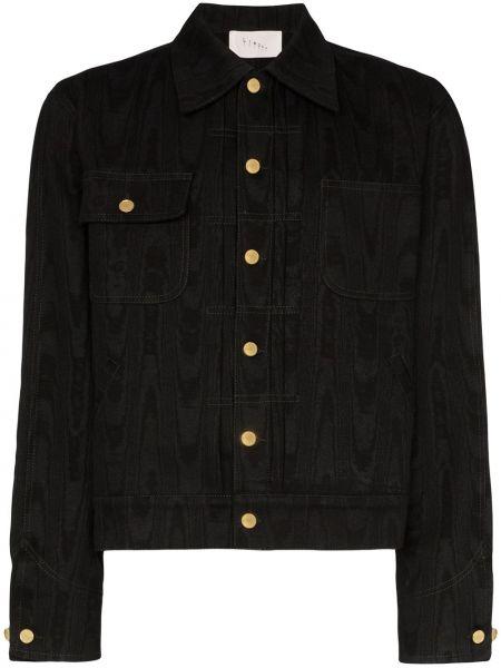 Klasyczne czarne jeansy bawełniane Linder