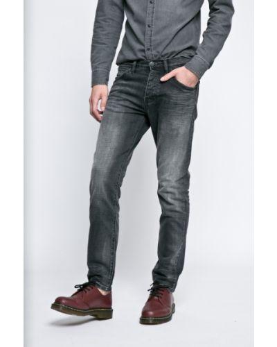 Серые джинсы с завышенной талией Wrangler