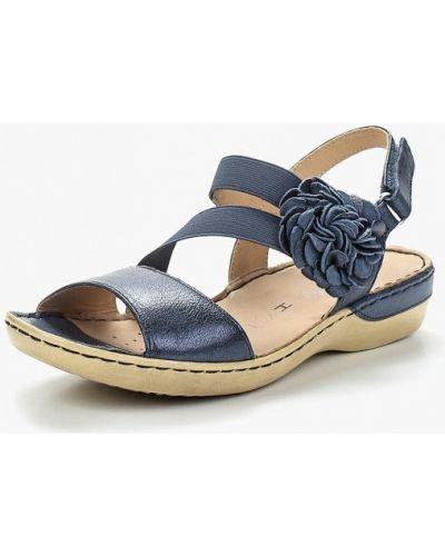 Синие сандалии Caprice