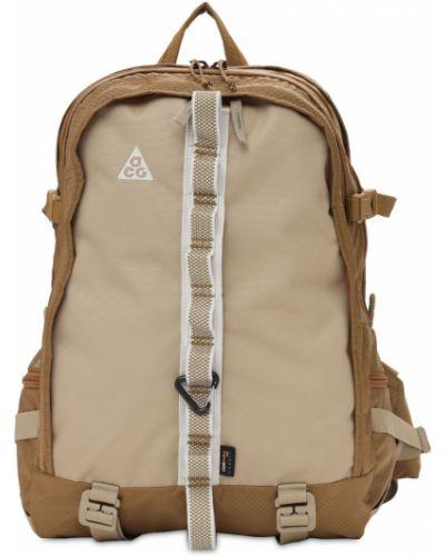 Компрессионный с ремешком рюкзак хаки Nike Acg
