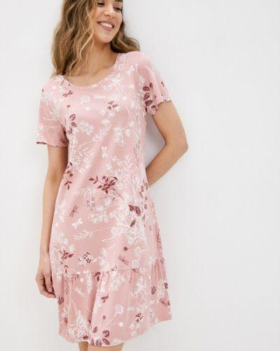 Домашняя розовая ночнушка Marks & Spencer