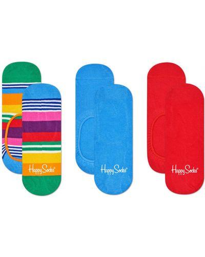 Колготки однотонные хлопковые Happy Socks