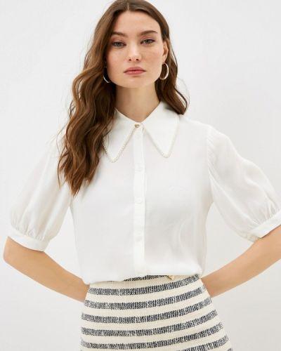 Белая блузка с короткими рукавами Ted Baker London