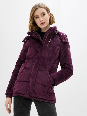 Фиолетовая утепленная куртка Zabaione