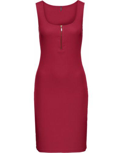 Вечернее платье облегающее в рубчик Bonprix