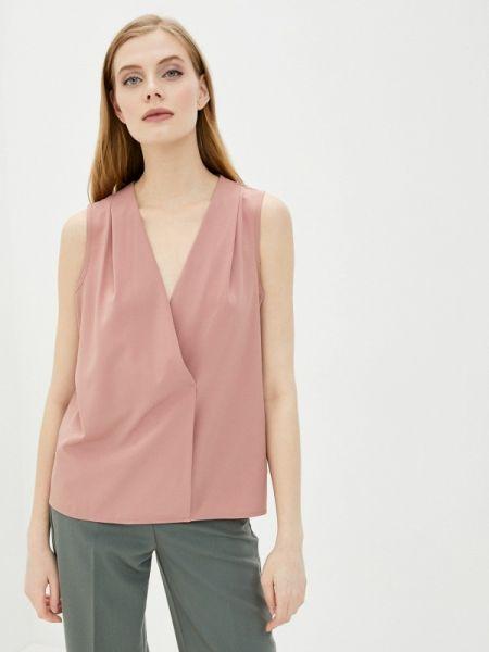 Розовая блузка без рукавов снежная королева