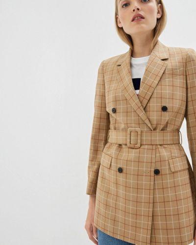 Бежевый пиджак Calvin Klein