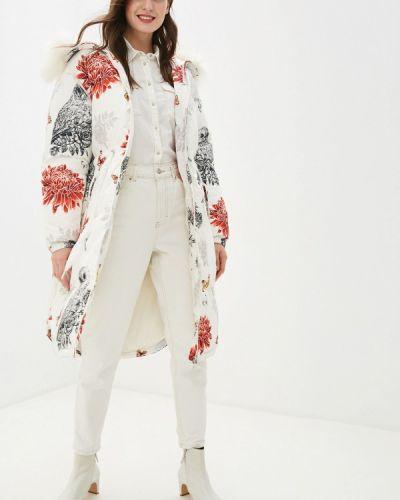 Зимняя куртка осенняя белая Odri Mio