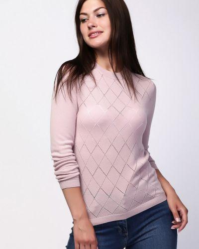 Пуловер с узором с воротником Just Valeri