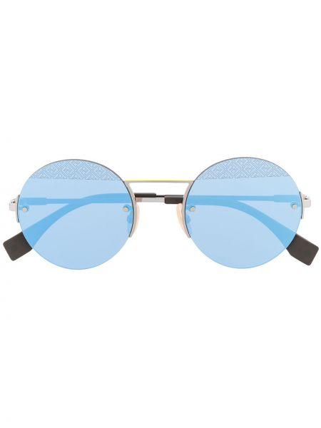 Солнцезащитные очки синий Fendi Eyewear