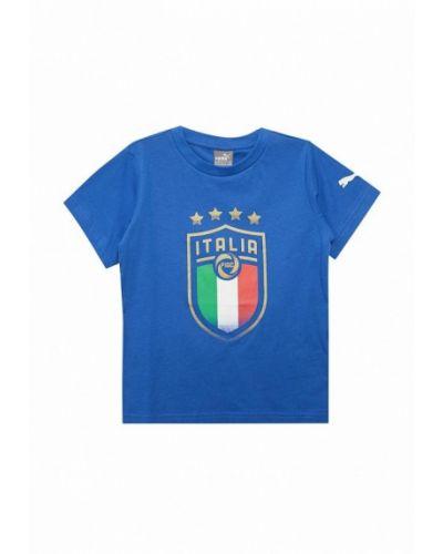 Синяя футболка Puma