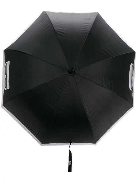 Parasol czarny Karl Lagerfeld