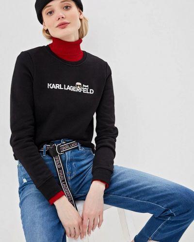 Черный свитшот Karl Lagerfeld