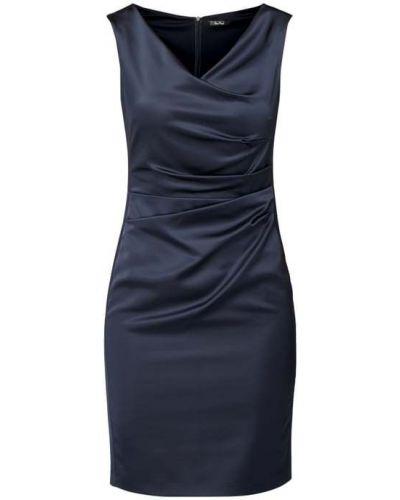 Sukienka koktajlowa - niebieska Vera Mont
