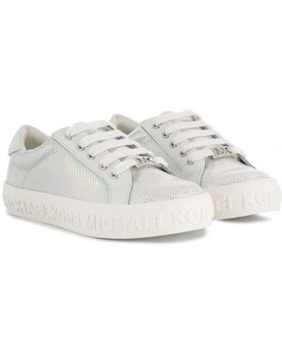 Белые кроссовки Michael Kors Kids