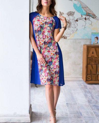 Платье с разрезом Mia-mia