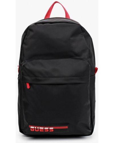 Текстильный городской черный рюкзак Guess