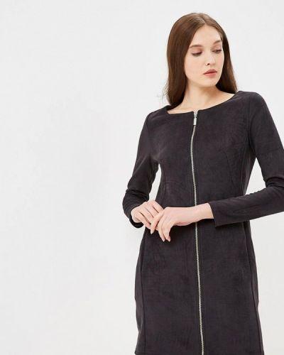 Платье - серое Coclo