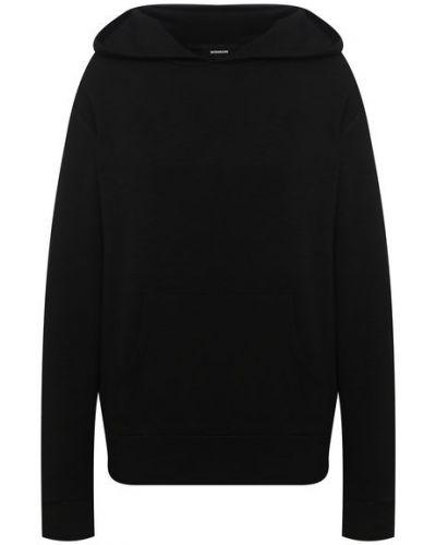 Повседневный трикотажный пуловер с капюшоном Monrow