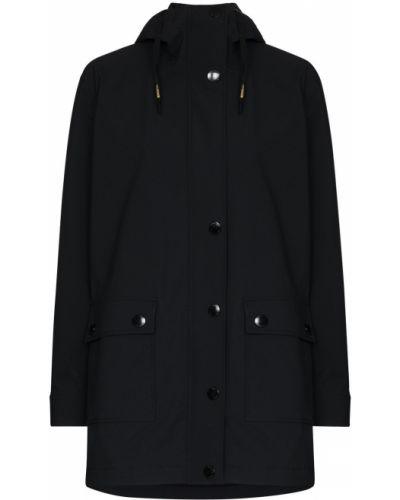 Черная куртка на кнопках Goldbergh