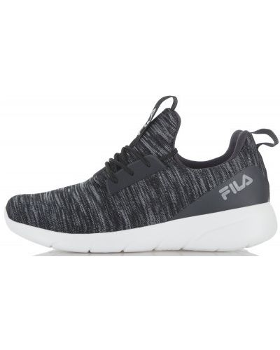Черные кроссовки Fila