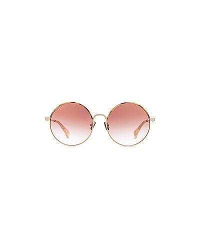 Солнцезащитные очки кожаные Diff Eyewear