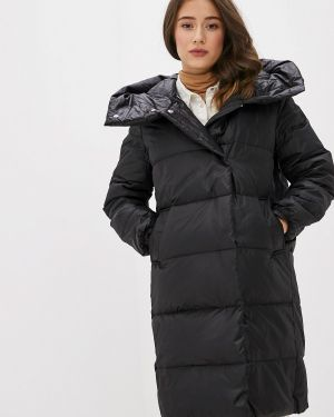 Зимняя куртка черная осенняя Befree
