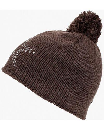 Коричневая шапка осенняя Icepeak