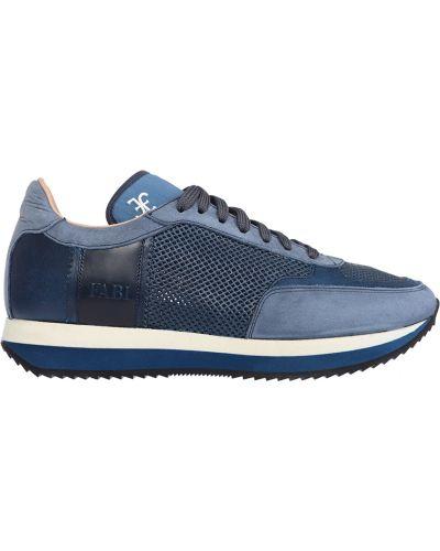 Синие кроссовки Fabi