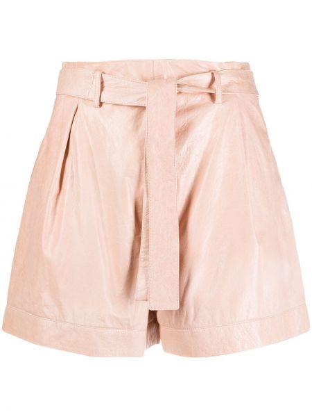 Розовые шорты с карманами Drome