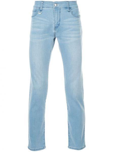 Классические нейлоновые джинсы-скинни на пуговицах с карманами Guild Prime