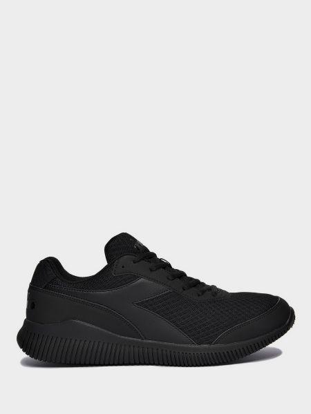 Текстильные кроссовки - черные Diadora