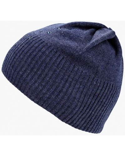 Синяя шапка осенняя Modis
