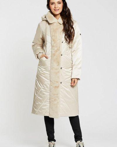 Утепленная белая куртка D`imma
