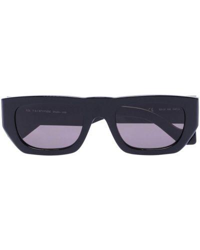 Черные солнцезащитные очки квадратные оверсайз Tol Eyewear
