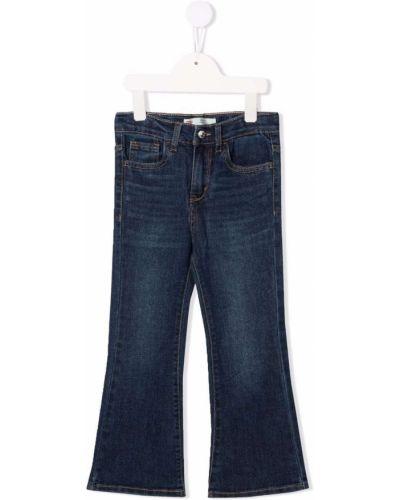 Niebieskie klasyczne jeansy Levis Kids